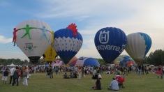 Un momento del Ferrara Balloons Festival 2013