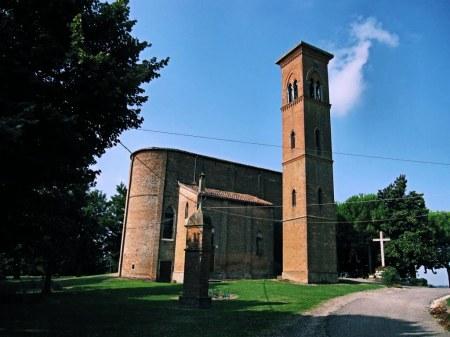 Il Santuario della Beata Vergine del Poggetto (da Panoramio © sguinguetta)